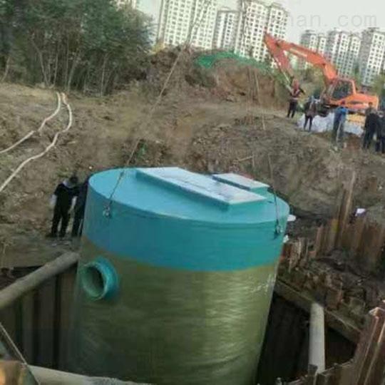 湖北宜昌玻璃钢预制泵站