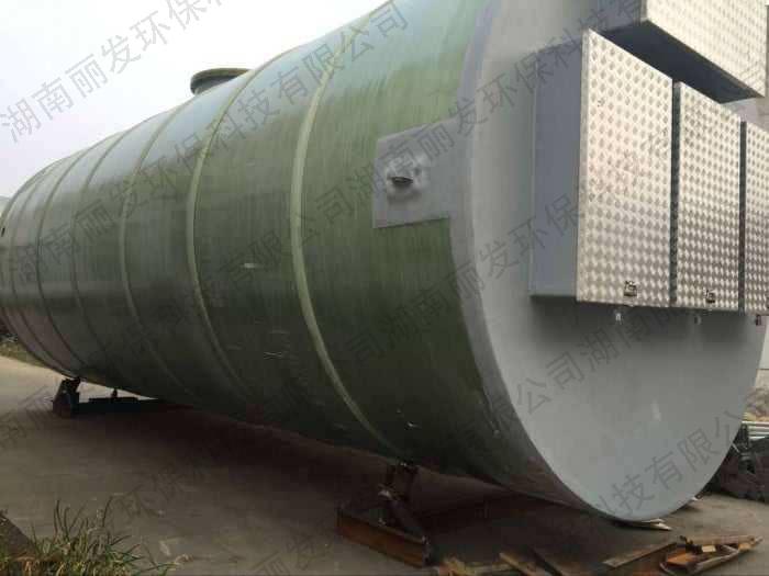 湖北荆州污水泵站