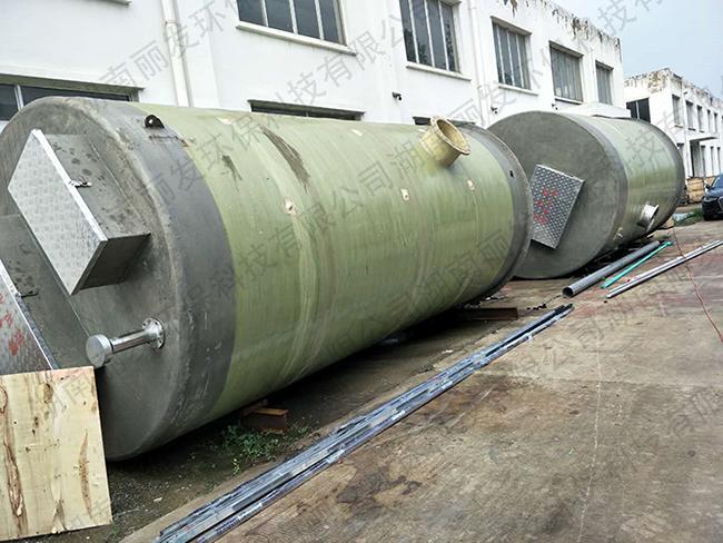 新型一体化预制泵站如何实现无堵塞排污