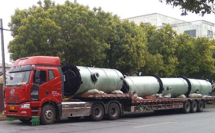 湖南一体化污水预制泵站运输
