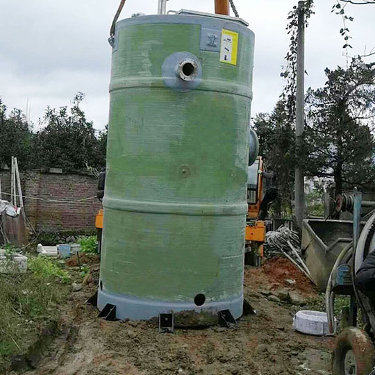 丽发环保一体化污水提升泵站