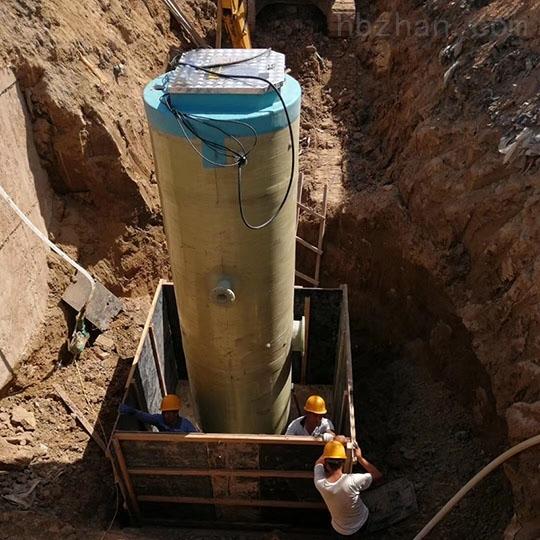 湖南常德一体化预制泵站