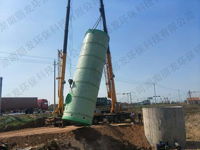 一体化地埋式污水处理泵站的安装与维护