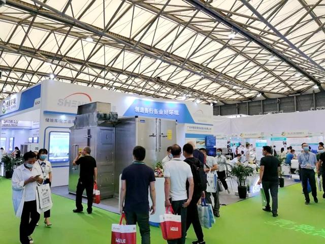 实力派!申菱污泥低温干化机亮相上海环博会