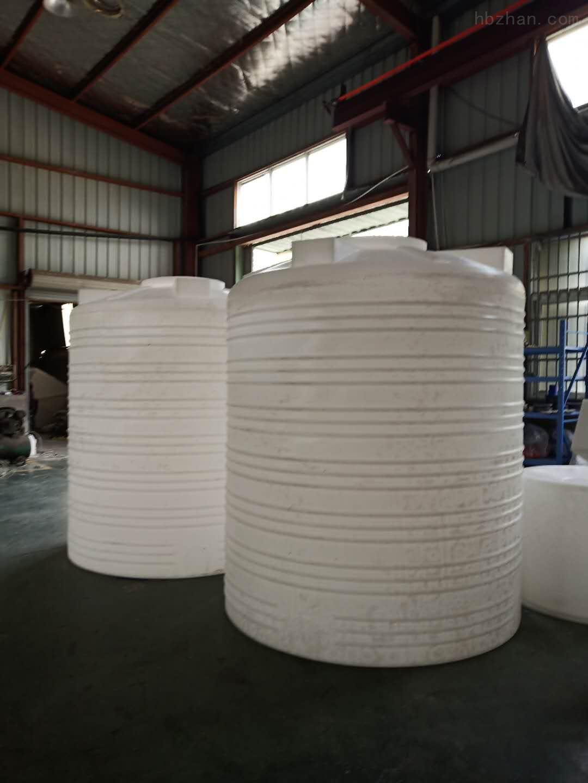 六安6吨塑料储水箱  聚丙烯酰胺储蓄罐