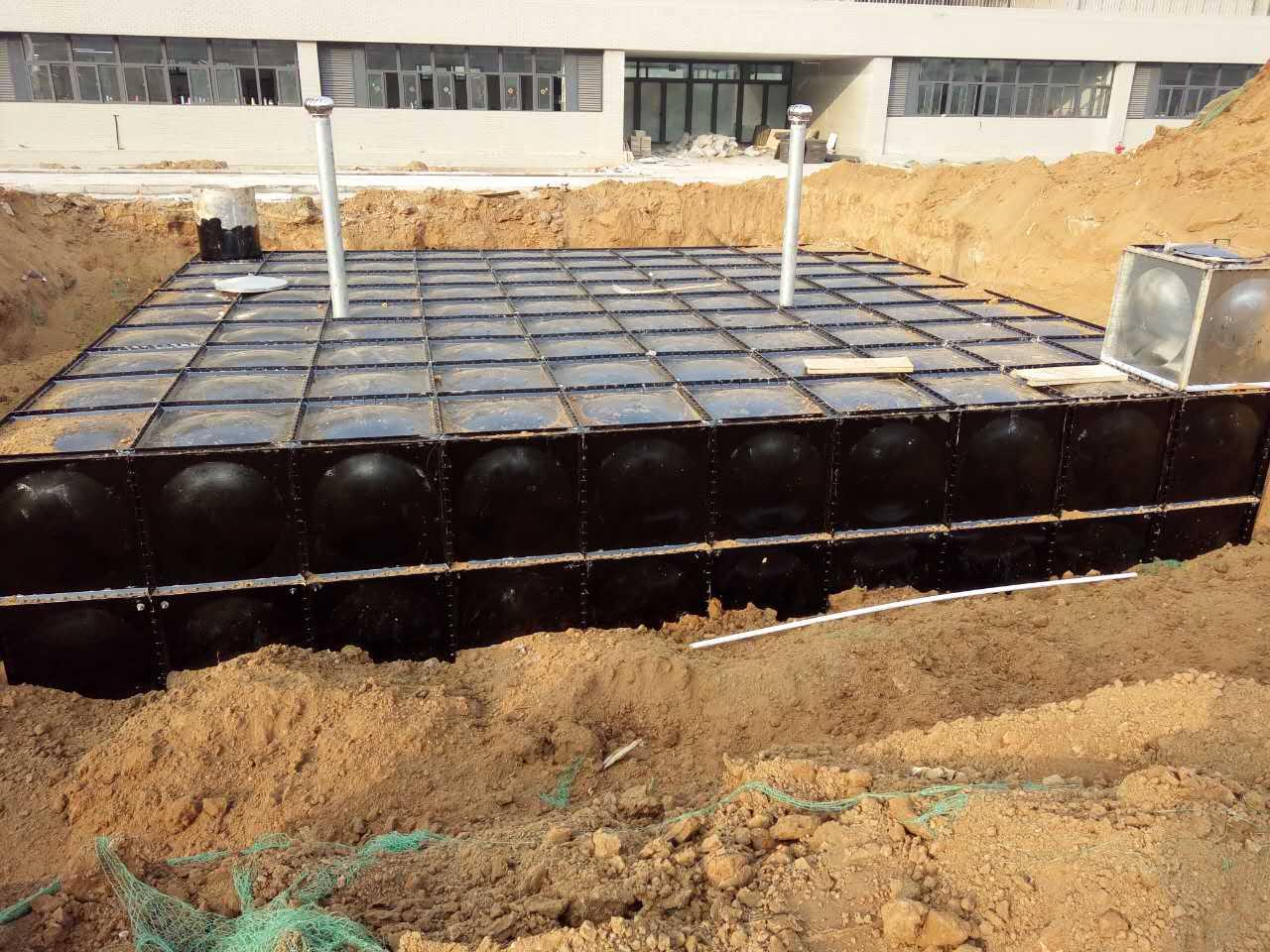 太原晋城吕梁480吨地埋式消防水箱