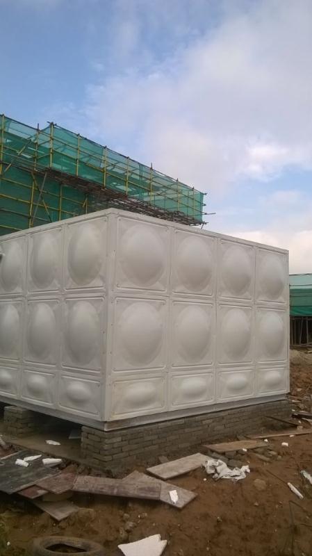 18吨屋顶箱泵一体化不锈钢水箱