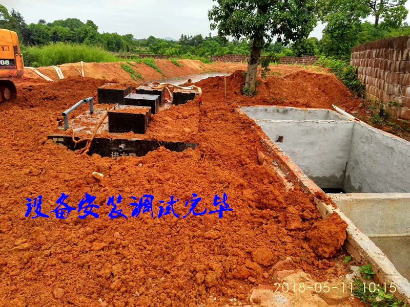 昌都新农村污水处理设备品质