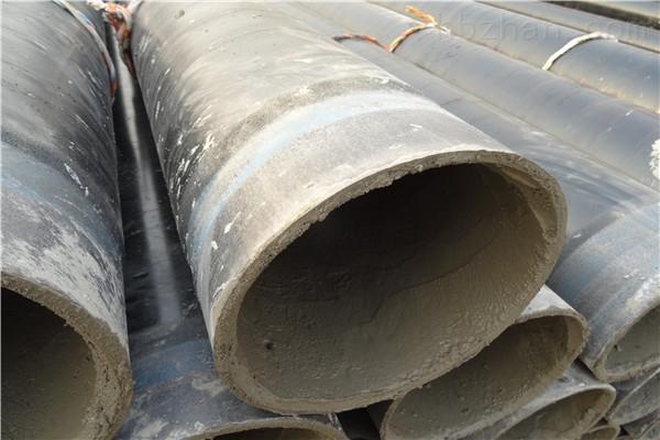 鹤岗污水水泥砂浆防腐钢管现货