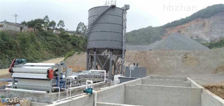 深圳碎石场泥浆干堆设备