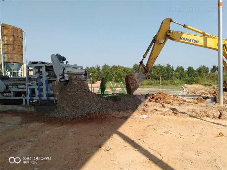 茂名鹅卵石制砂泥浆干堆设备