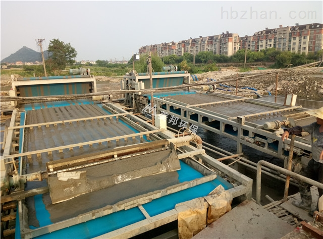 云南洗石粉淤泥处理设备