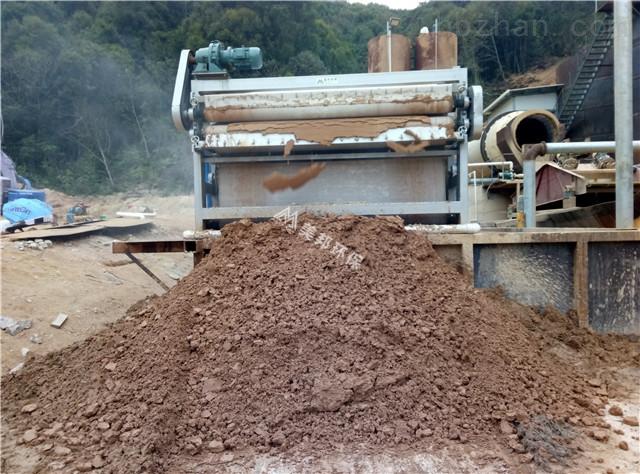 揭阳矿山泥浆脱水处理