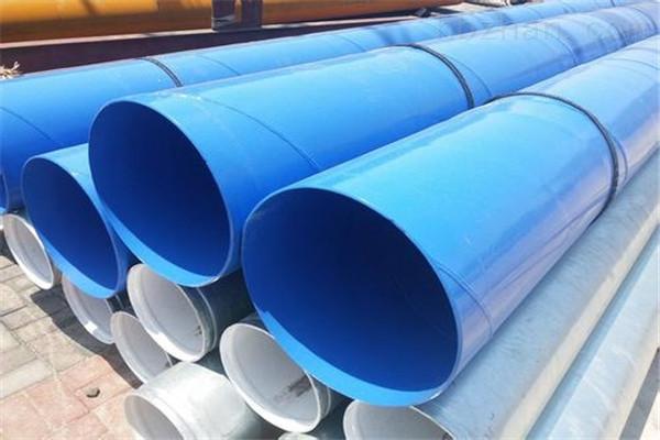 来宾供水用环氧树脂防腐钢管用途