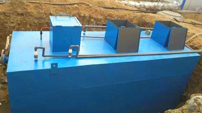 职工宿舍污水处理设备特点