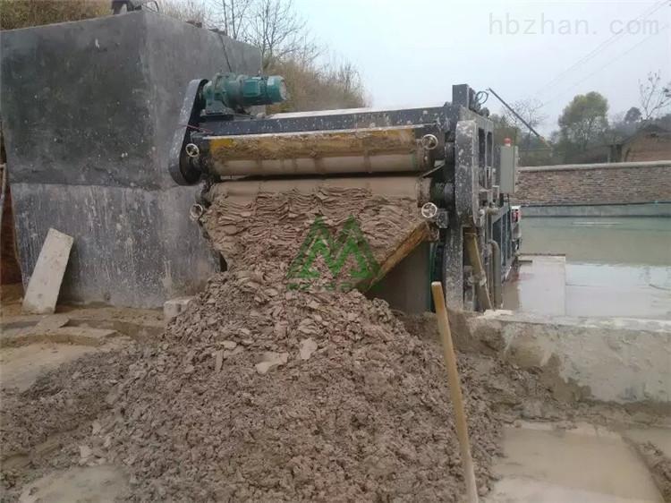 北京洗山砂淤泥处理