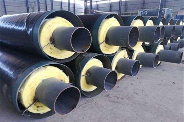 德州钢套钢蒸汽复合保温管销售厂家