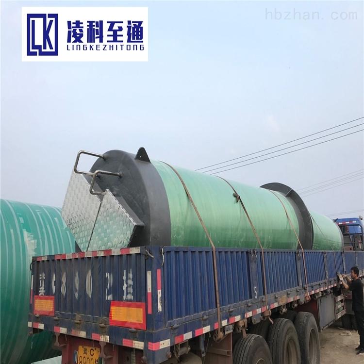 小区一体化提升泵站隔油污水提升设备一体化泵站预制