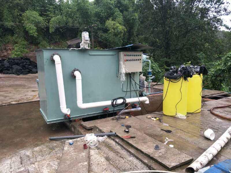 山南居民生活污水处理设备选型
