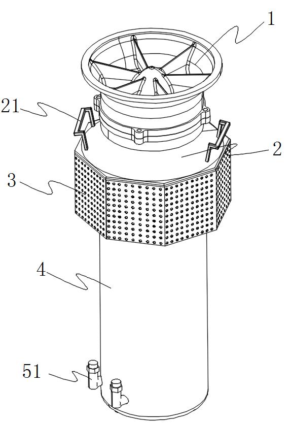 液压潜水泵立体图
