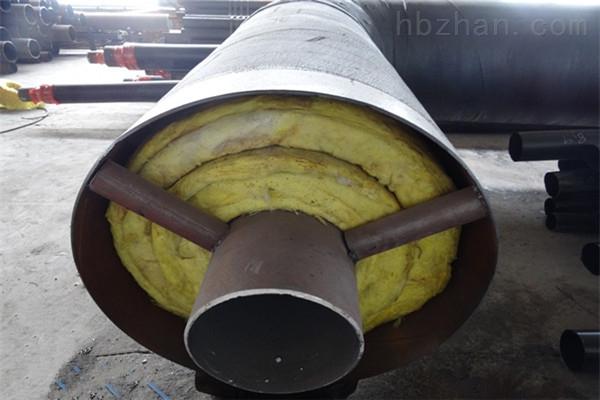 泸州钢套钢岩棉保温直埋管道加工