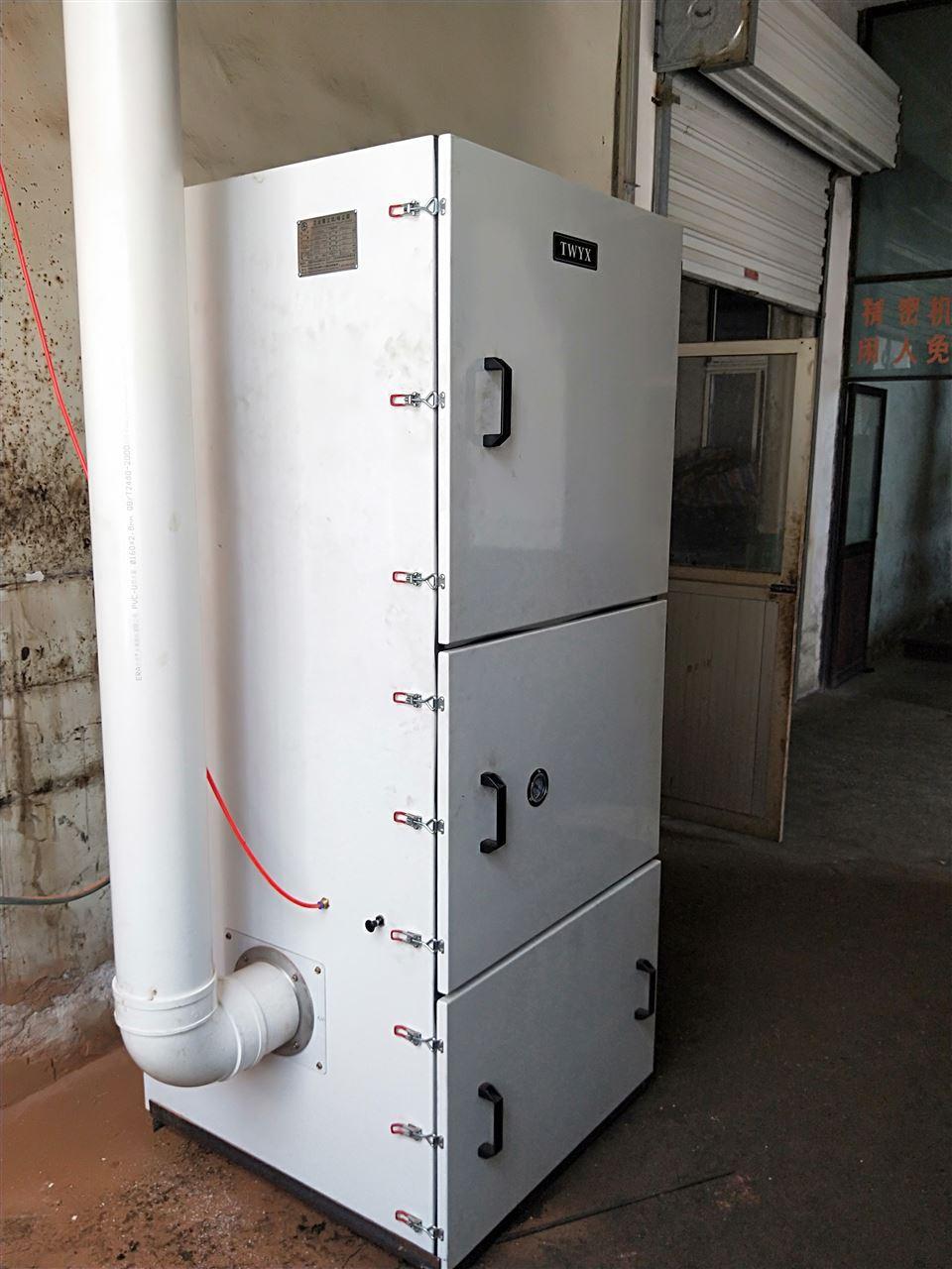 机床废屑除尘器 磨床粉尘吸尘器 柜式工业吸尘器 磨床吸尘器示例图17