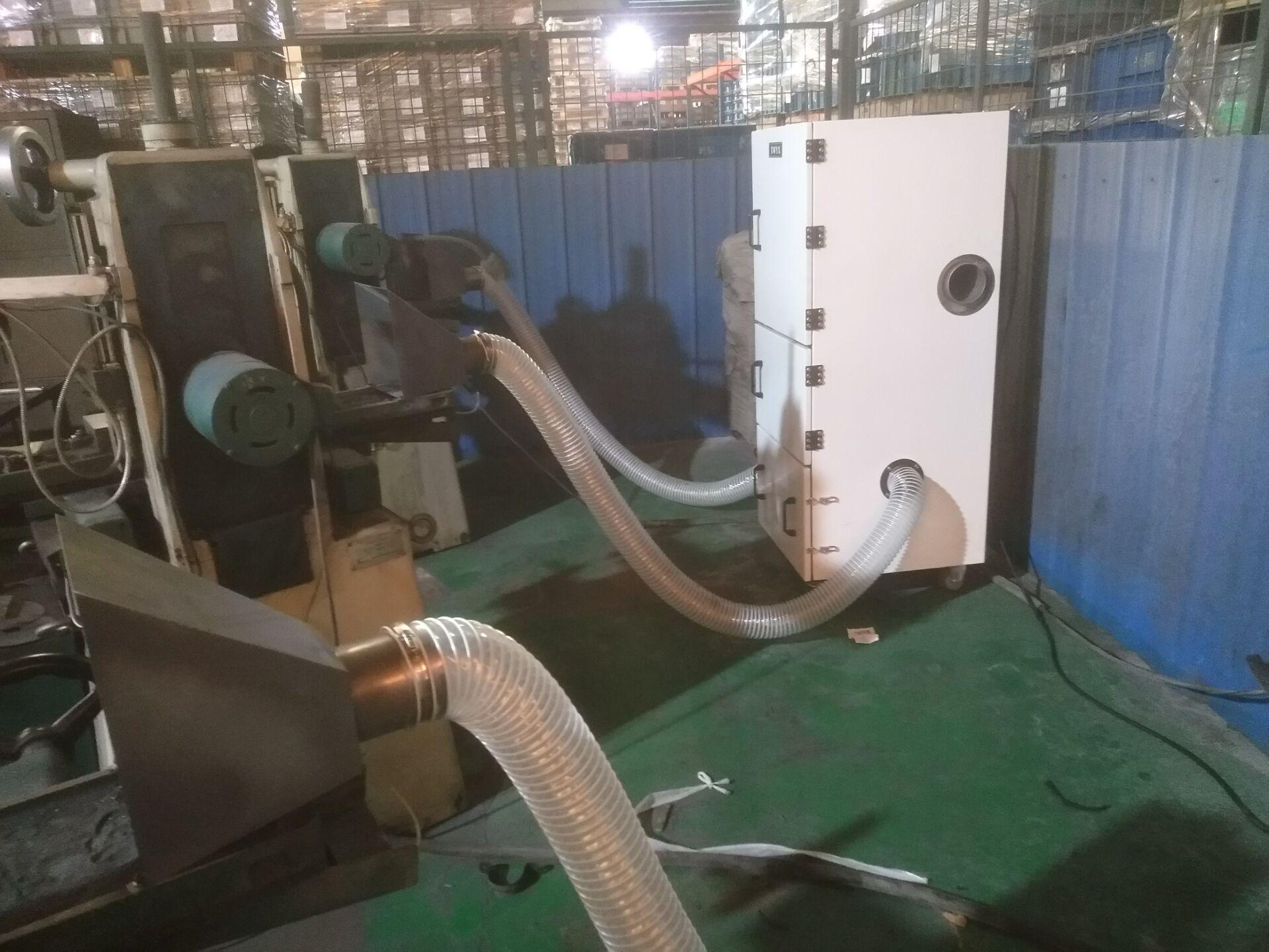 机床废屑除尘器 磨床粉尘吸尘器 柜式工业吸尘器 磨床吸尘器示例图26