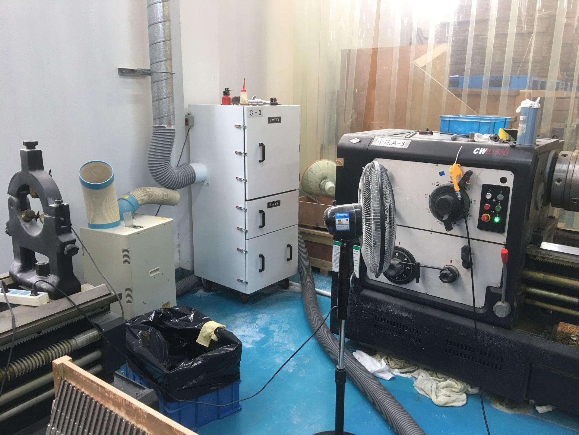 厂家磨床吸尘器  0.75kw磨床粉尘除尘器  JC-750-2砂轮机打磨集尘器   机床铝屑粉尘吸尘器移动式示例图8