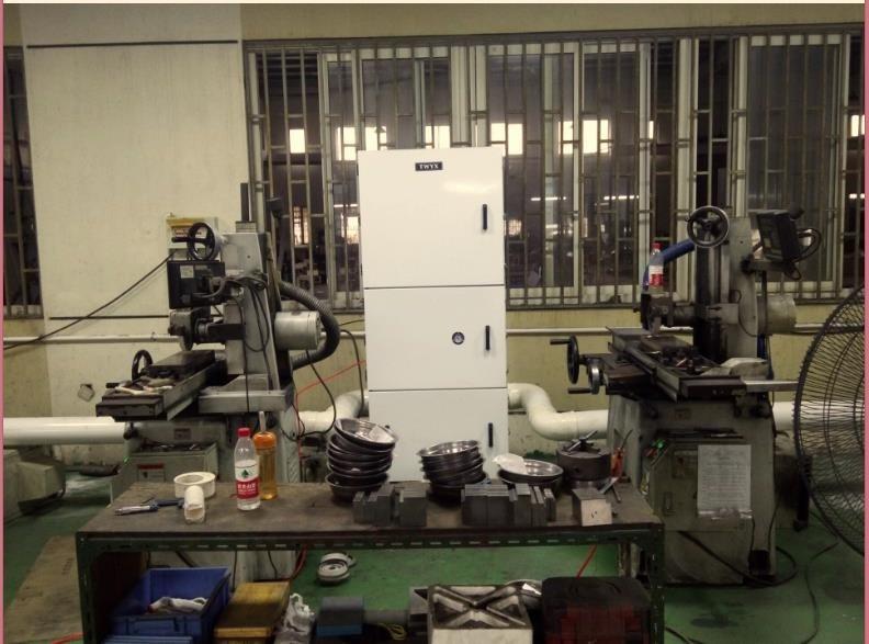 机床废屑除尘器 磨床粉尘吸尘器 柜式工业吸尘器 磨床吸尘器示例图21