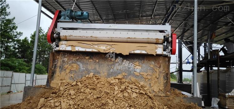 山东沙场带式泥浆处理设备价格
