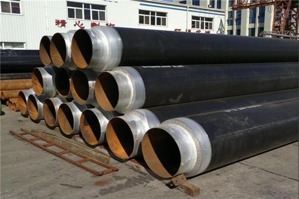咸宁黄夹克聚氨酯直埋保温钢管销售厂家
