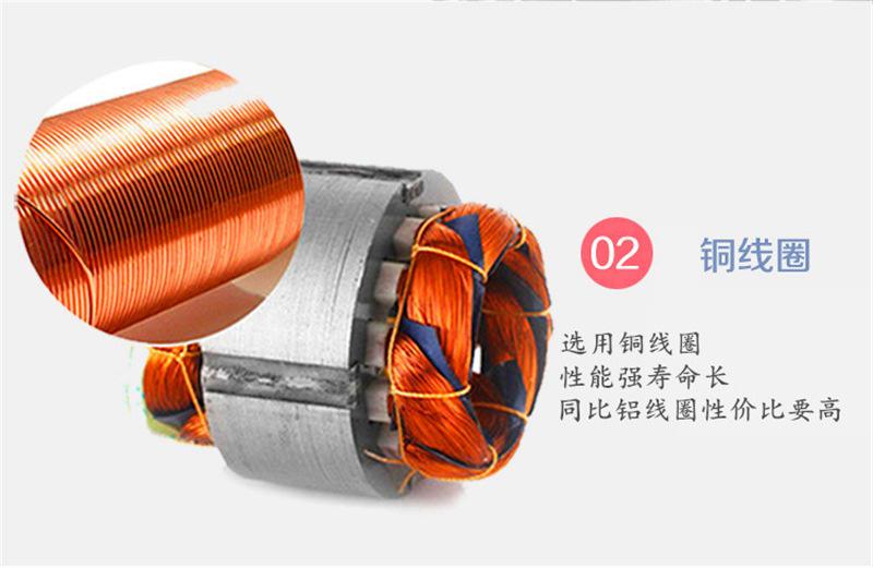 厂家CX-75A/0.75KW中压风机 燃烧机中压风机 燃烧机铝合金鼓风机示例图8