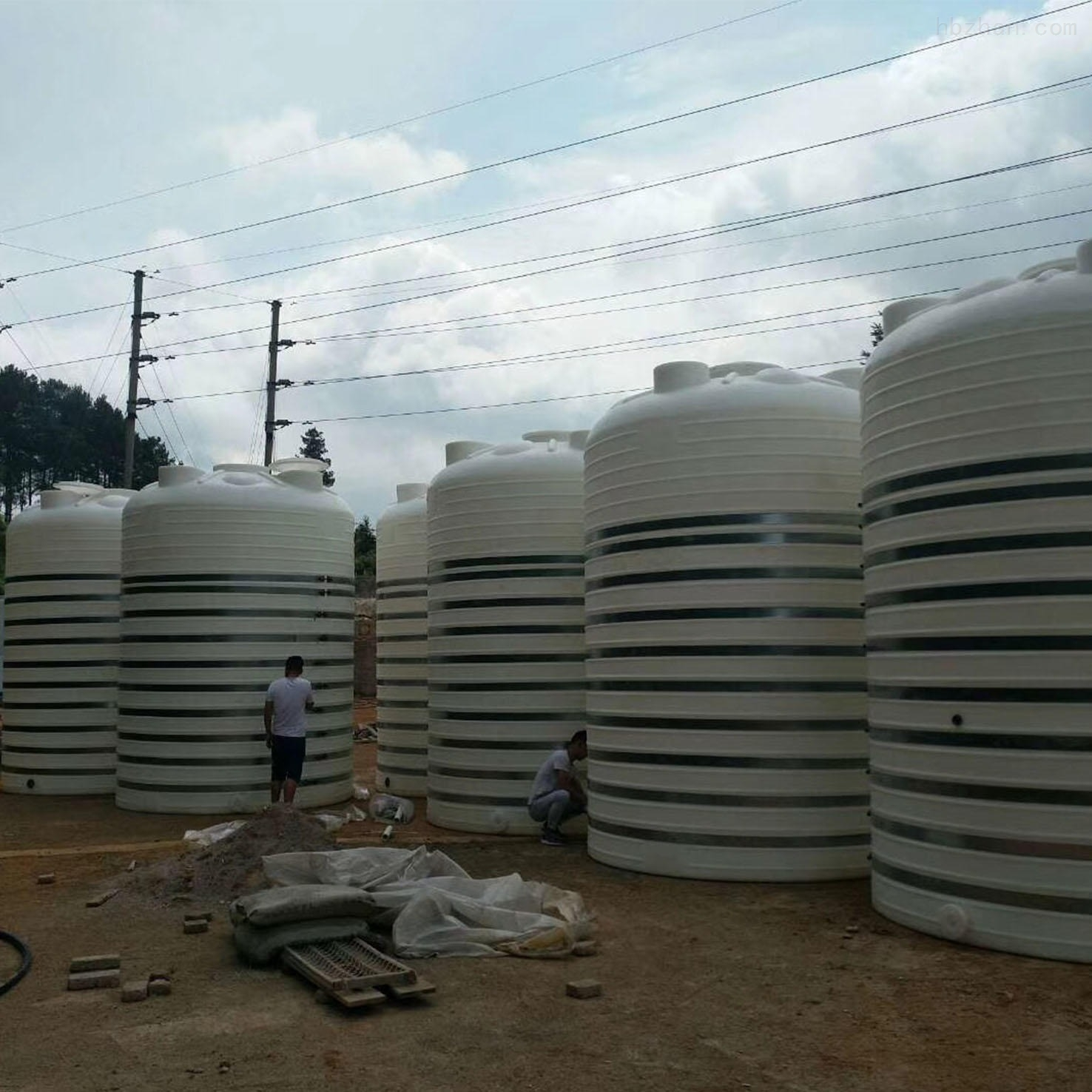 20吨塑料储水罐 20立方塑料纯水罐
