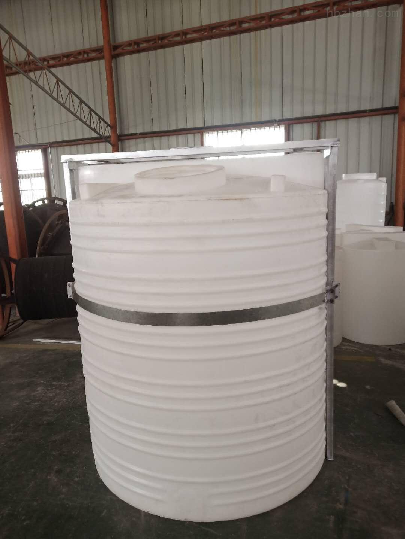 嘉善3吨塑料加药箱 化工液体搅拌罐