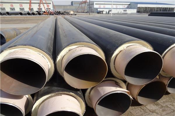 白银缠绕型玻璃钢预制保温钢管现货供应