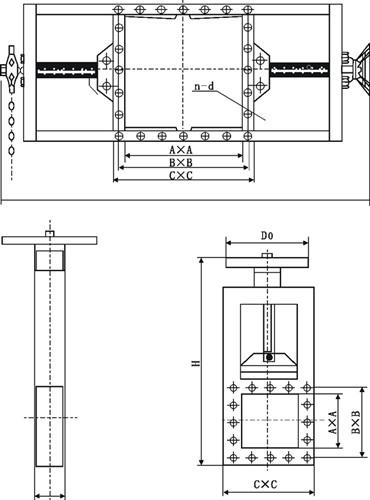 液动螺旋闸门图