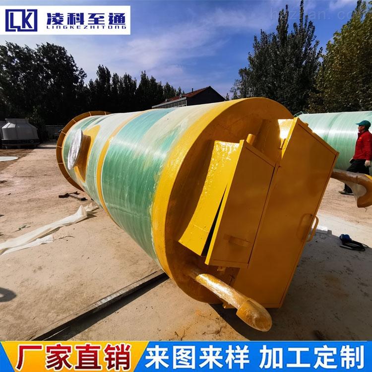襄樊农村一体化预制泵站免费设计方案