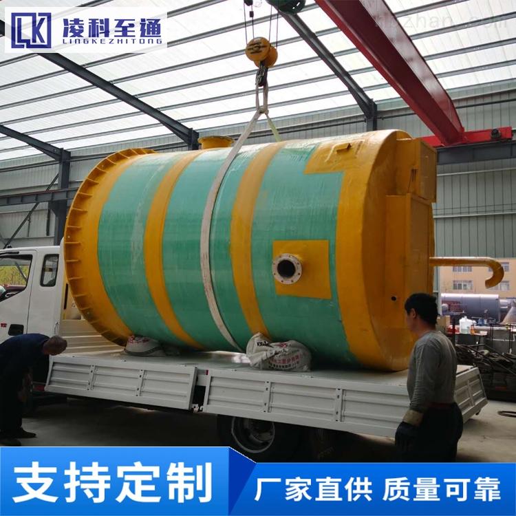 鹤壁地埋式一体化提升泵站工艺流程