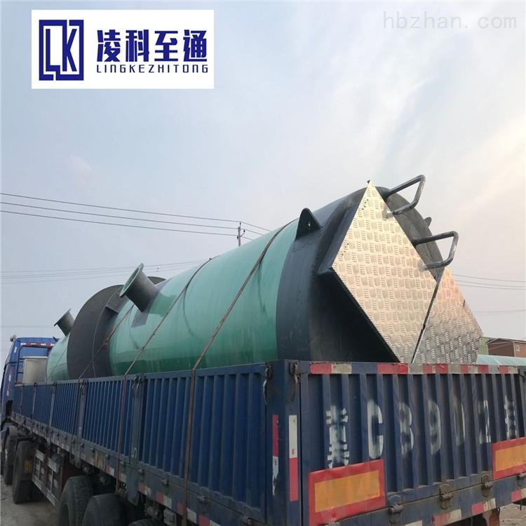 扬州玻璃钢一体化预制泵站安装环境