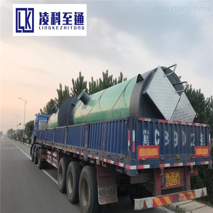 台州一体化废水提升泵站工艺流程