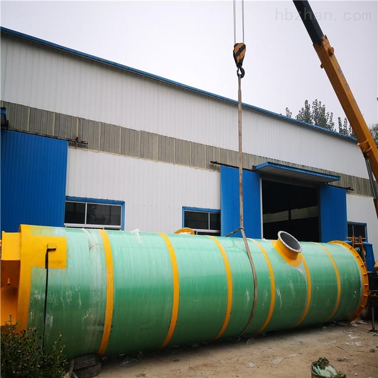 常德一体化污水预制泵站如何使用