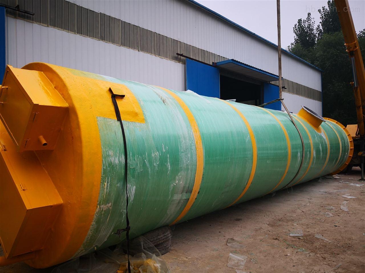 七台河污水一体化预制泵站资质齐全