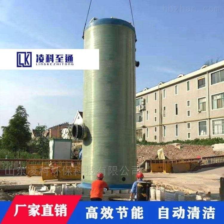 深圳高速路一体化预制泵站工艺流程