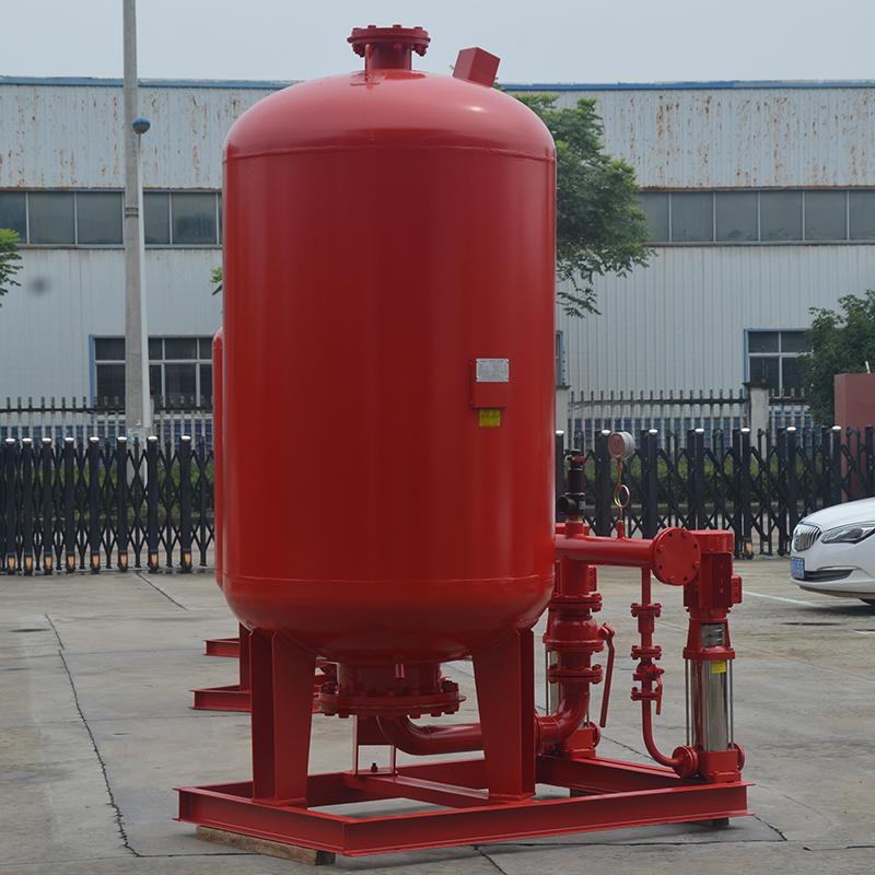 上海喜之泉下置式XZQ消防稳压给水设备,立式增压稳压设备,ZW(L)-1-X-100.16消防泵供水设备,消防泵示例图2