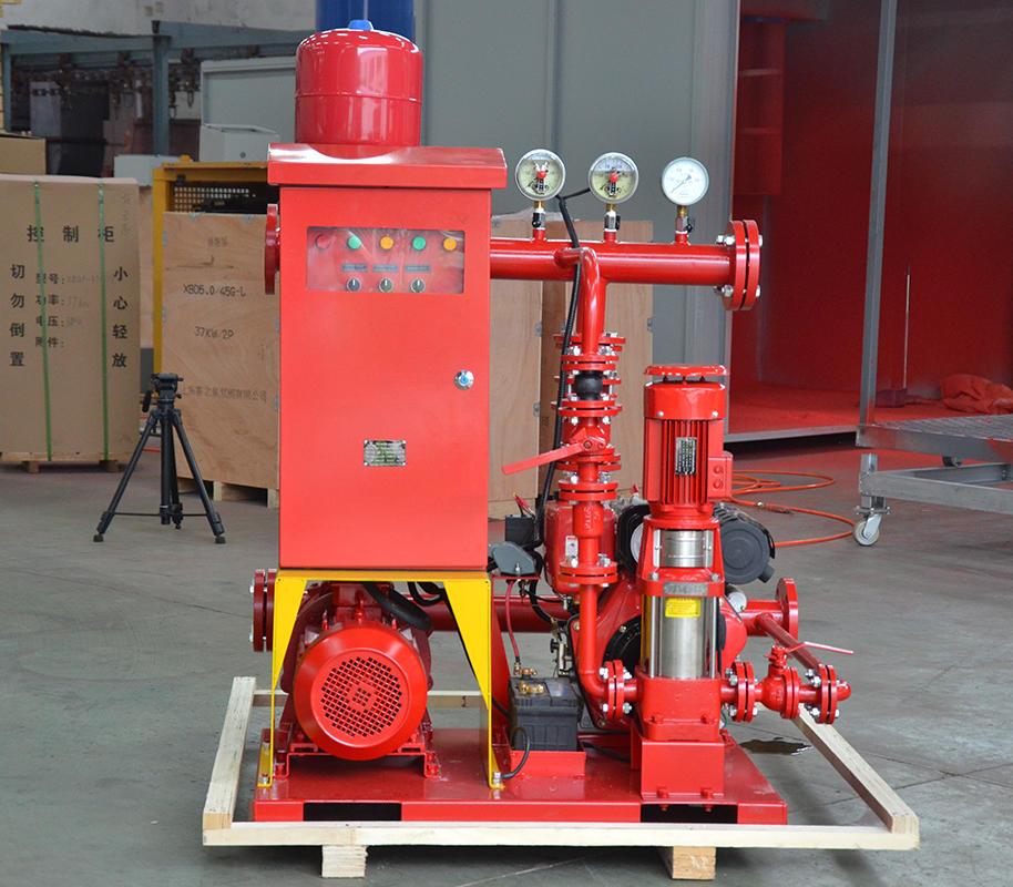 喜之泉3CF认证EDJ双动力柴油机消防泵组示例图2