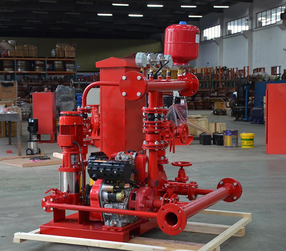 喜之泉3CF认证EDJ双动力柴油机消防泵组示例图4