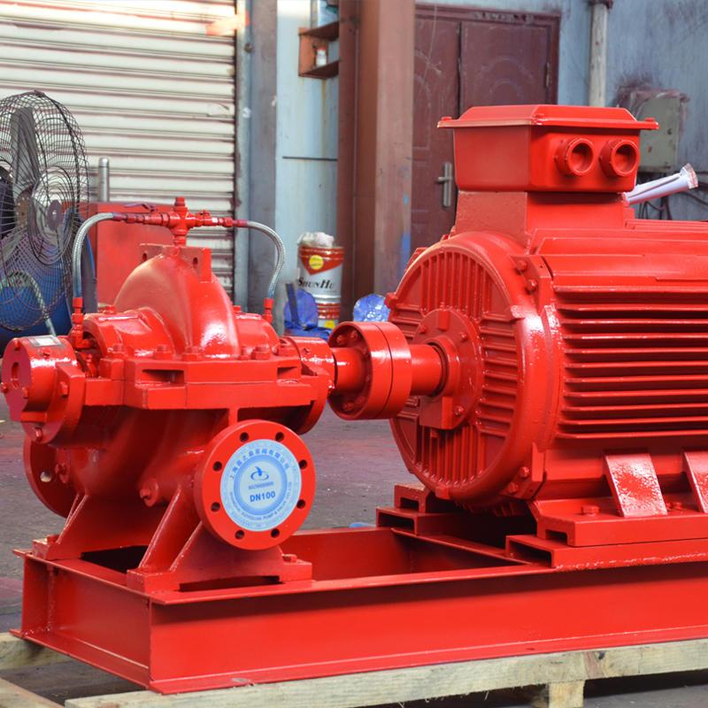 上海喜之泉XBD-S 消防泵,XBD5.0/44-150S-50 消防泵示例图2