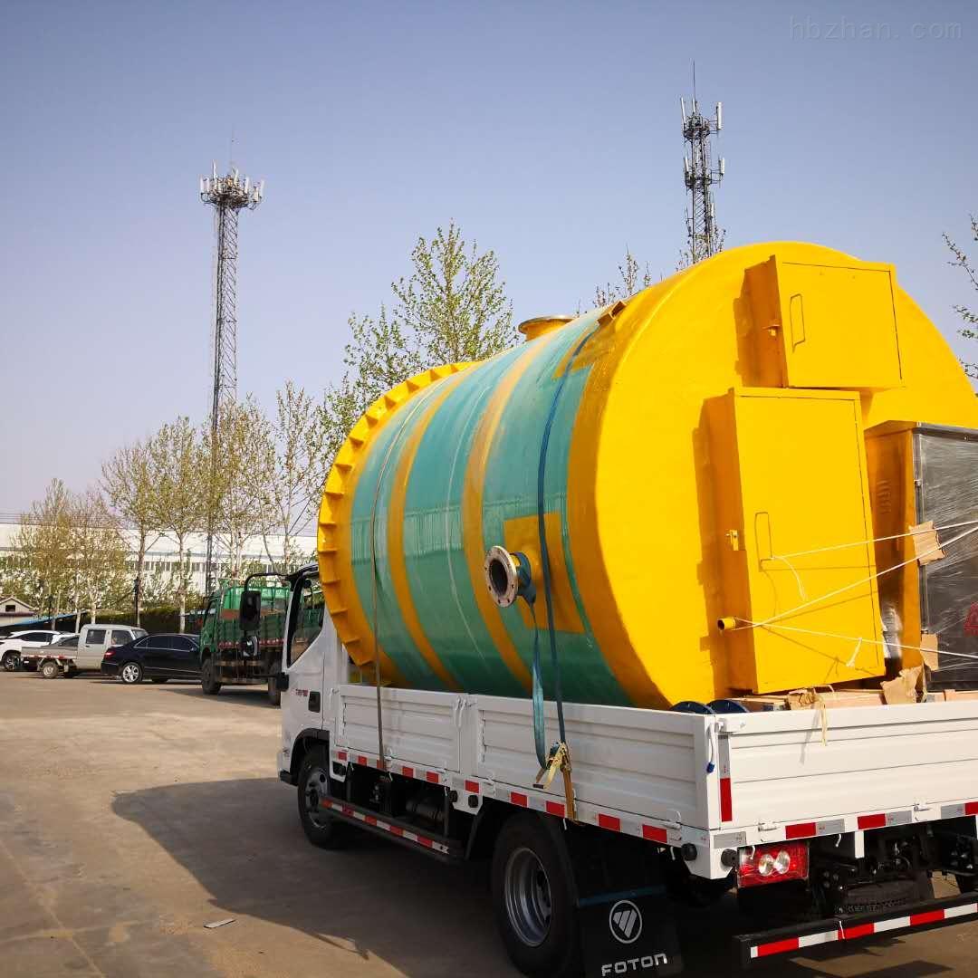 常德一体化污水预制泵站使用方法