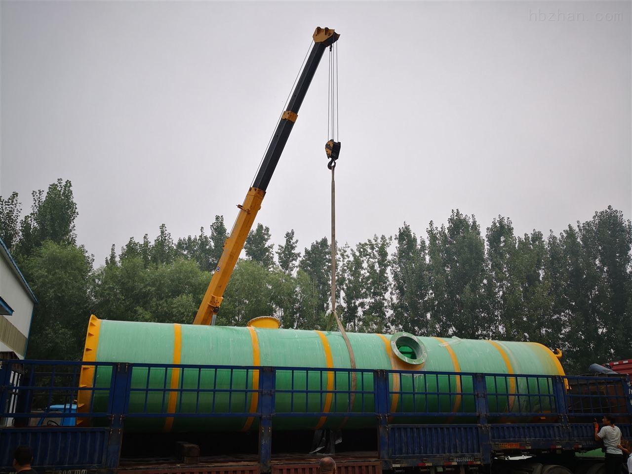 江门景观池一体化提升泵站污水提升设备