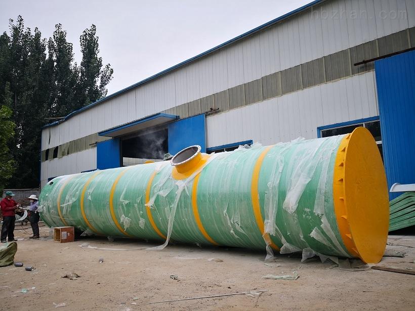 鹤壁全自动一体化提升泵站污水提升设备